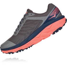 Hoka One One Challenger ATR 5 Shoes Women, charcoal gray/fusion coral